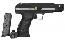 "Hi-Point CF380COMP Compensated 380 ACP Double 380 ACP 4"" 8+1/10+1 3-Dot Black Polymer Grip Black/Chrome"