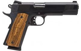 "American Classic AC45G2 1911 Classic II 45 ACP 5"" 8+1 Hardwood Grip Blued"