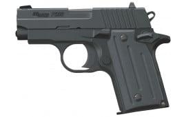 "Sig Sauer 238380B P238 Standard 380 ACP 2.7"" 6+1 Black Grip Black"