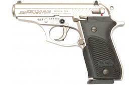 "Bersa THUN380PNKL15 Thunder Plus DA/SA 380 ACP 3.5"" 15+1 Black Poly Grip Nickel"