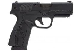 "Bersa BP40MCC BPCC Concealed Carry Double 40 S&W 3.3"" 8+1 Black Polymer Grip/Frame Grip Black"