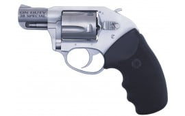 """Charter Arms 53810 Undercover On Duty DA/SA 38 Special 2"""" 5 Black Rubber Stainless"""