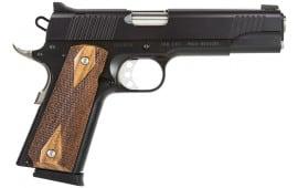 "Magnum Research DE1911G 1911 Desert Eagle 45 ACP 5.05"" 8+1 Dbl Diamond Wood Grip Black"