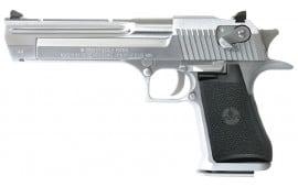 "Magnum Research DE44CABC Desert Eagle *CA Compliant* 44 Mag 6"" 8+1 Black Grip Brushed Chrome"
