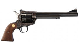 """Colt P4770 Single Action Army Single 44 Special 7.5"""" 6 Walnut w/Gold Screws & Medallion Blued"""