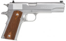 "Remington Firearms 96324 1911 R1 Single 45 ACP 5"" 7+1 Walnut Grip Stainless Steel"