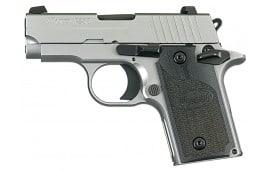 "Sig Sauer 238380HDCA P238 HD *CA Compliant* SA 380 ACP 2.7"" 6+1 Black G10 Grip SS"
