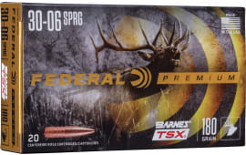 Federal P3006AE 3006 180 Hornady TSX - 20rd Box