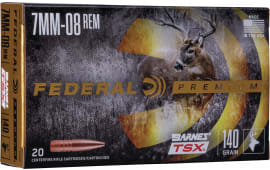 Federal P708C 7MM08 140 BRN TSX - 20rd Box