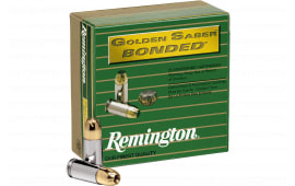 Remington 29363 GSB40SWAB GLD Saber 40 S&W 165 BJHP - 20rd Box