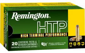 Remington 22303 RTP38S21A HTP 38+P 125 SJHP - 20rd Box