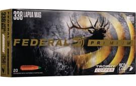 Federal P338LTC1 338 LAP 250 COP - 20rd Box