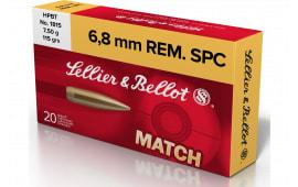 Sellier & Bellot SB68D 6.8 Spec 115 HPBT - 20rd Box