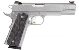 "Remington Firearms 96329 1911 R1 Enhanced Single 45 ACP 5"" 8+1 Laminate Black Grip Stainless Steel"