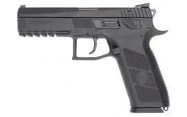 "CZ 91621 P-09 Full Size DA/SA 40 S&W 15+1 4.53"" Poly Grip/Frame Black"