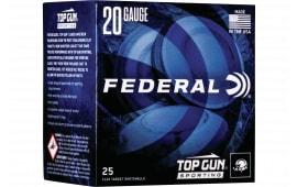Federal TGS282175 Topgun 20 2.75 3/4 - 250sh Case