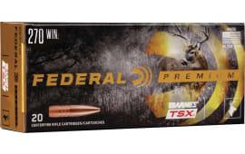 Federal P270L 270 130 BRN TSX - 20rd Box