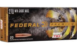 Federal P270WSMD 270WSM 130 BRN TSX - 20rd Box