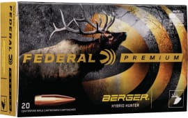 Federal P65CRDBCH1 6.5 Creedmoor 135 Berger - 20rd Box