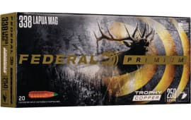 Federal P338LTC1 338 LAP 250 COP - 20rd Box