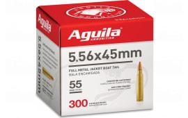 Aguila 1E556125 556 *BULK* 55 FMJ Boat Tail 300/04 - 300rd Box