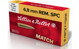 Sellier & Bellot SB68D 6.8 Spec 115 HPBT - 20rd Box