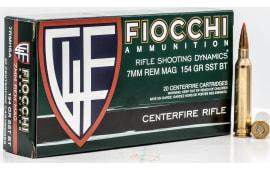 Fiocchi 7RMHSA 7MMMG 154 SST - 20rd Box