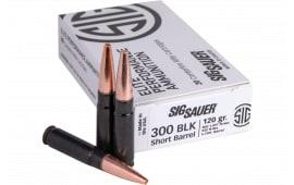Sig Sauer E300H1SBR-20 300 Blackout 120 SLD COP - 20rd Box