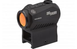 Sig Sauer SOR52122 ROME05 1X20 M1913 .5 MOA GN Dot Black