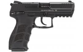 "HK 730903SA5 P30S V3 DA/SA 9mm Luger 3.85"" 10+1 Black Interchangeable Backstrap Grip Black"