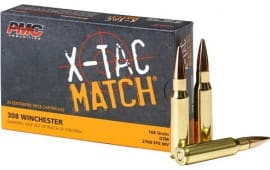 PMC 308XM 308 WIN 168 OTM Match - 20rd Box