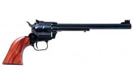 "Heritage Mfg RR22MB9AS Rough Rider Small Bore Single 22 LR/22 WMR 9"" 6 Cocobolo Blued"