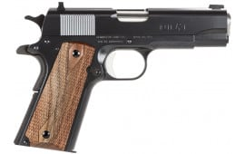 "Remington Firearms 96336 1911 R1 Commander Single 45 ACP 4.25"" 7+1 Walnut Grip Black"