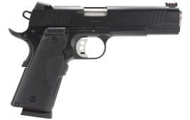 "Remington Firearms 96366 1911 R1 Enhanced Single 45 ACP 5"" 7+1 Black Synthetic/Crimson Trace Laser Grip"