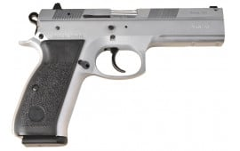 "TriStar 85090 P-120 Steel DA/SA 9mm Luger 4.7"" 17+1 Black Polymer Grip Chromed"