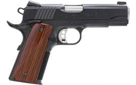 "Remington 96335 1911 R1 Carry Commander SAO 45 ACP 4.25"" Cocobolo Grip Black"