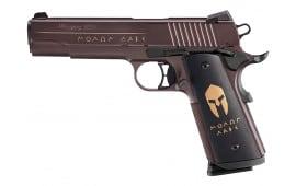 "Sig 1911CA45SPAR 1911 Carry Spartan 45 ACP 4.2"" 8+1 Black/Bronze Grips Bronze"