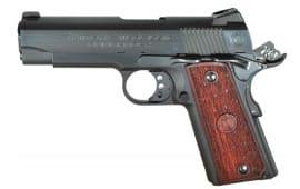"American Classic ACCC45B 1911 Compact Commander Single 45 ACP 4.3"" 7+1 Hardwood Grip Blued"