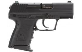 """HK 709302LEA5 P2000SK CA Comp V2 LEM DAO 9mm 3.26"""" 10+1 NS Poly Grip Black 3Mags"""