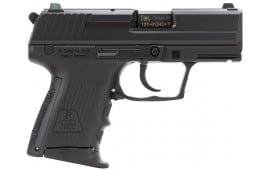 "HK 709303LEA5 P2000SK CA Comp V3 3Mags DA/SA 9mm 3.3"" 10+1 Interchangeable Grip Black"
