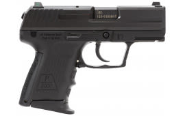 """HK 704302LEA5 P2000SK CA Comp V2 LEM DAO 40 S&W 3.26"""" 9+1 NS Poly Grip Black 3Mags"""
