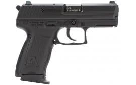 """HK 704303LEA5 P2000SK CA Comp V3 3Mags DA/SA 40 S&W 3.3"""" 9+1 Interchangeable Grip Black"""