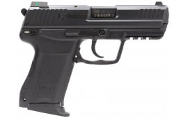 "HK 745031LEA5 HK45C Compact V1 3Mags DA/SA 45 ACP 3.9"" 8+1 Synthetic Grip Black"