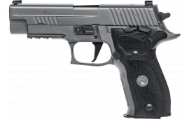 "Sig Sauer 226RM9LEGION P226 Full Size Legion *MA Compliant* Single 4.4"" 10+1 Black G10 Grip Gray PVD Stainless Steel"