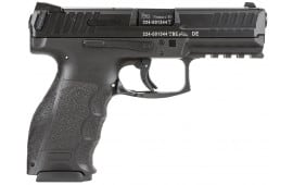 "HK 700009A5 VP9 Double 9mm Luger 4.09"" 10+1 2 Mags Black Interchangeable Backstrap Grip Black"