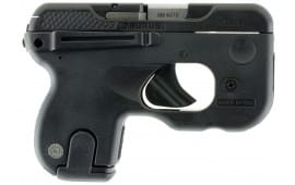"Taurus 1180031 180 Curve Double 380 ACP 2.7"" 6+1 Black Polymer Grip Black"