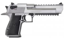 "Magnum Research DE50SR Desert Eagle Mark XIX SAO 50 Action Express 6"" 7+1 Black Synthetic Grip SS"