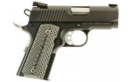 "Magnum DE1911U9 Desert Eagle 1911 Undercover Single 9mm 3"" 9+1 Black/Gray G10 Grip Black"