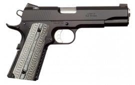 """Ed Brown AESSG4 Alpha Elite Gen 4 Single 45 ACP 5"""" 7+1 Black Polymer Grip Black Stainless Steel"""