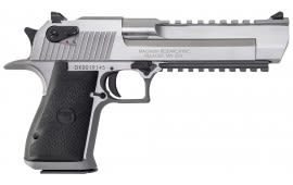 "Magnum Research DE50SR Desert Eagle Mark XIX SAO 50 Action Express 6"" 7+1 Black Synthetic Grip SS"